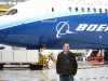 Me alongside the Dreamliner