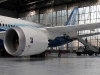 Boeing 787 in the Hangar at Heathrow