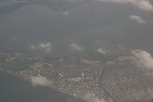 Cartagena Airport from above