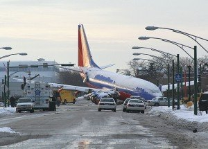Southwest Airlines Flight 1248 overran the runway at Midway in 2005, killing a child