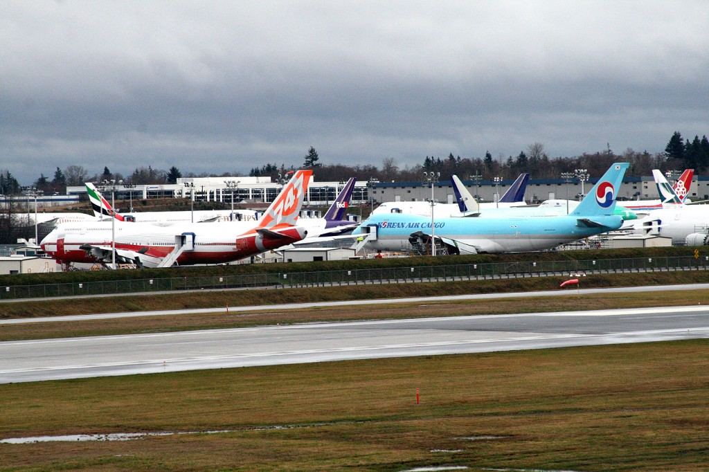 Paine Field Spotting