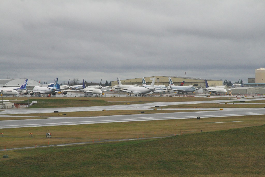 Paine Field Observation Deck