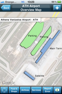 iFly Airport Maps