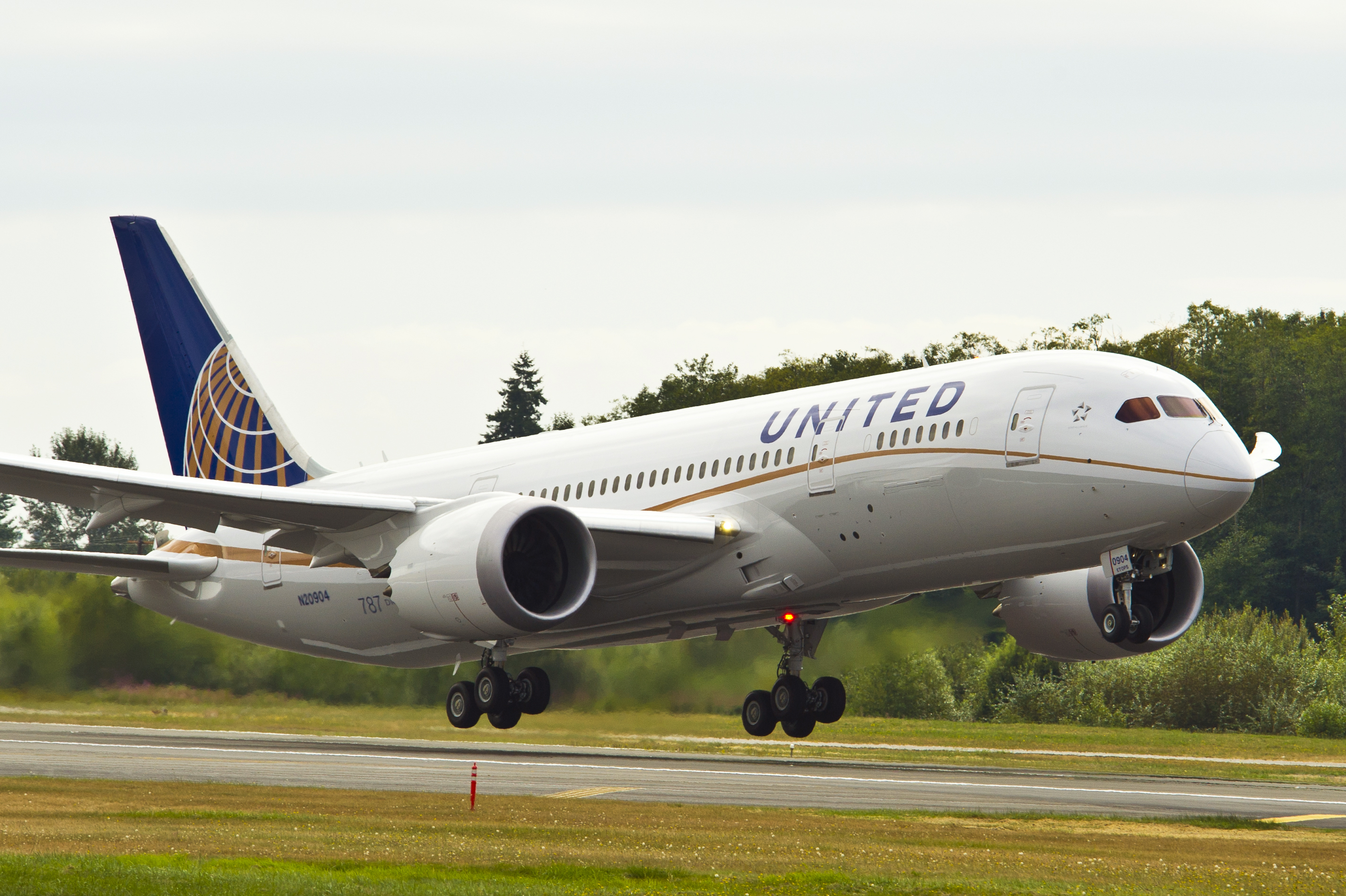 United Airlines 787-800