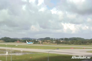 Stavanger Airport Webcam
