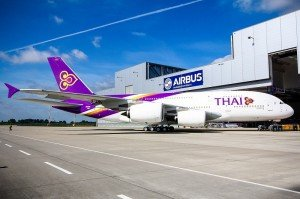 Thai A380  (c) Thai Airways