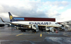 Luton Ryanair 737