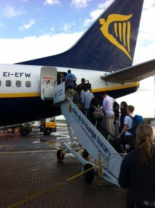 Luton Ryanair Flight