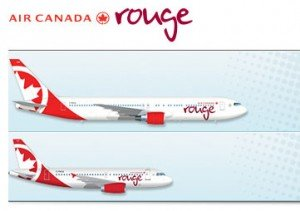 Air Canada Rouge Fleet
