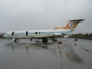Derelict Trident at Nicosia