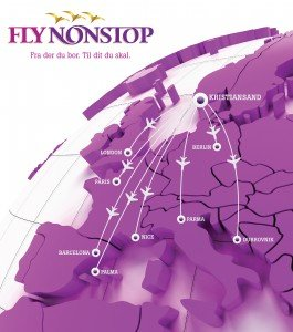 FlyNonstop Routes