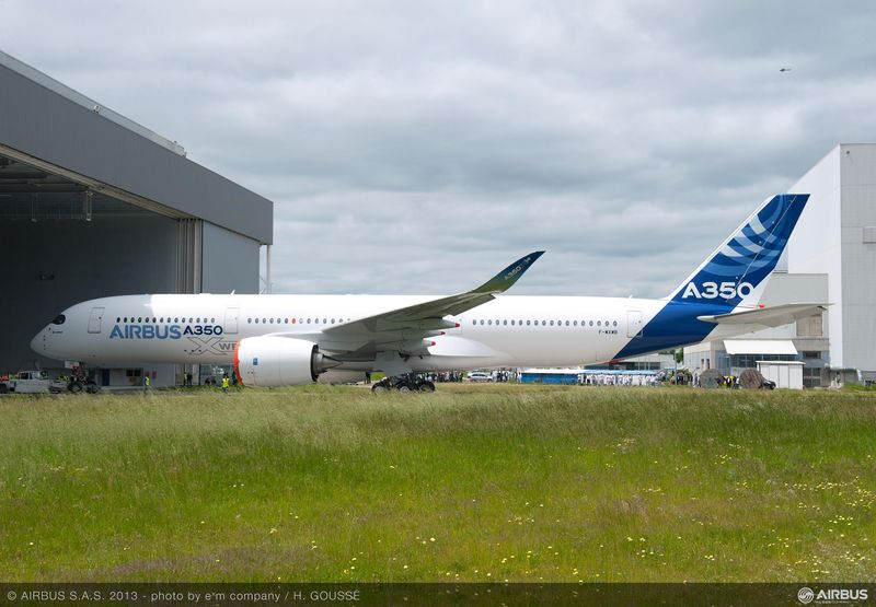 A350 © Airbus S.A.S 2013 Photo by H. Goussé