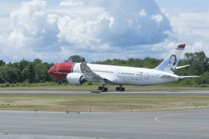 Norwegian Air takeoff