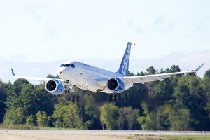 CSeries First Flight