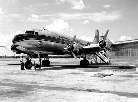 National Airlines DC-6