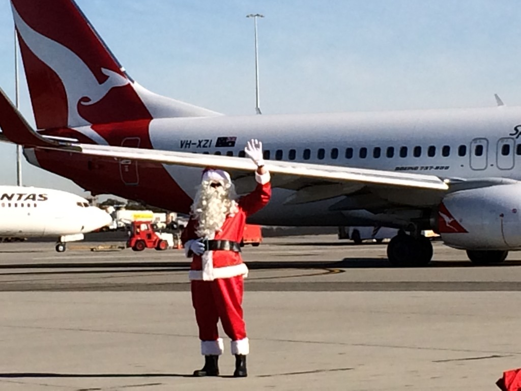 Qantas at Christmas