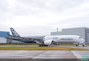 Airbus A350 Carbon Livery