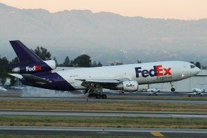 FedEx DC-10 at San Jose (c) Dylan Ashe. Creative Commons