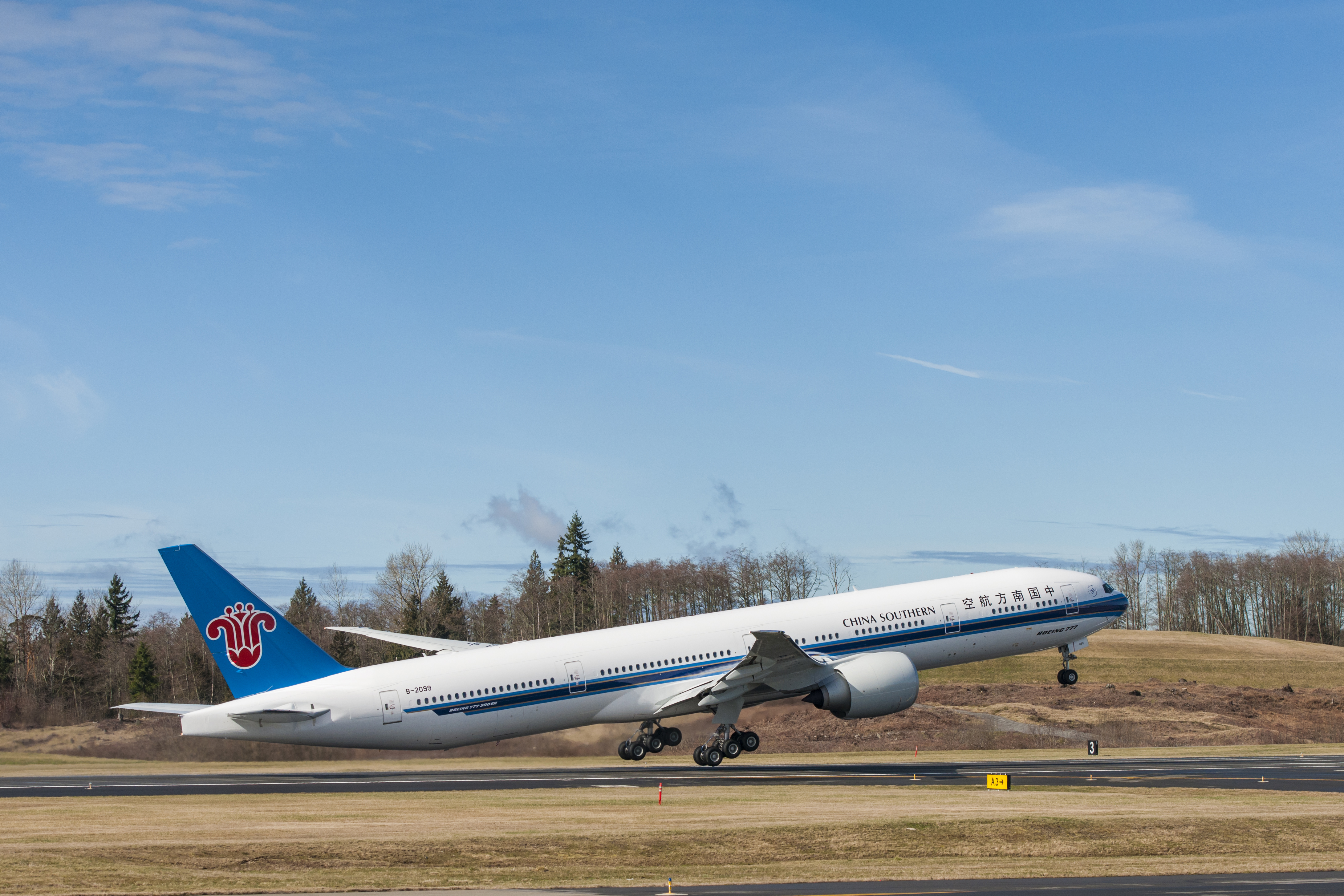 777 China Southern Delivery Event