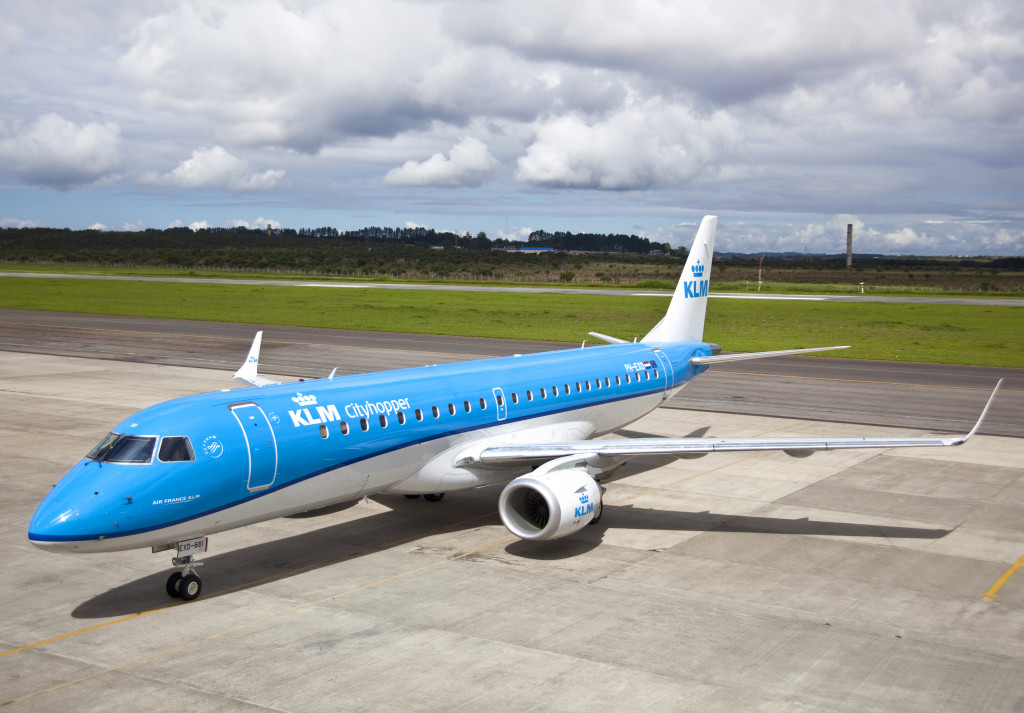 KLM modified livery
