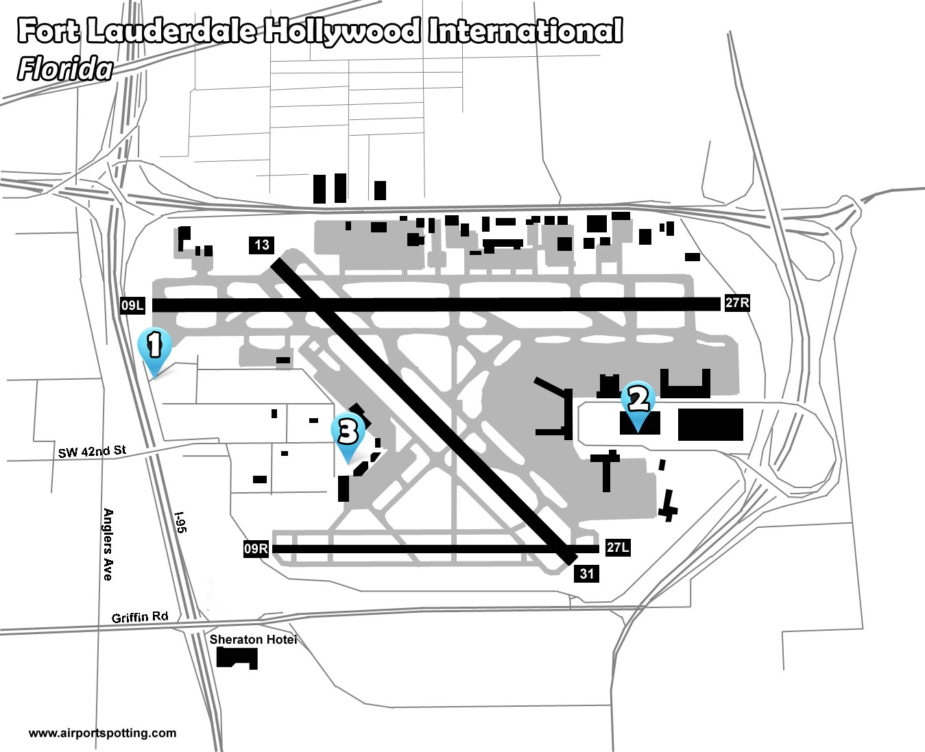 Fort Lauderdale - Airport Spotting Blog on long island islip airport map, national airport map, st. petersburg airport map, ponce airport map, air force base homestead florida map, colorado airport map, runway heathrow airport map, key west airport terminal map, car rental fll airport map, ft myers airport map, montreal airport map, ft lauderdale fl airport map, washington airport map, hayward airport map, los angeles intl airport map, george bush airport terminal map, placencia airport map, flint airport map, o'hare airport runway map, richmond airport map,