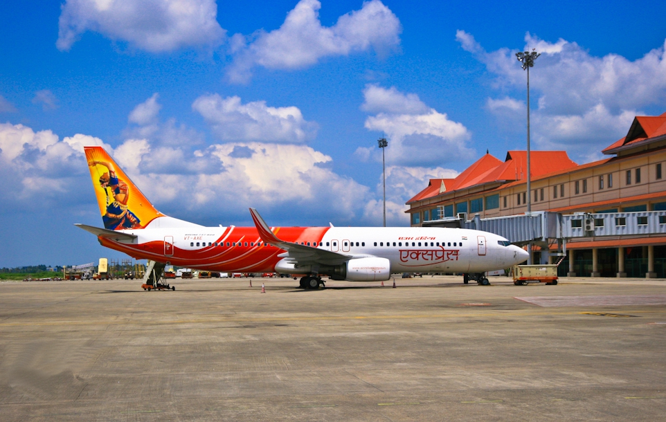 Air India Express at Cochin