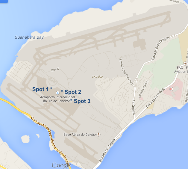 Galeao Airport Map