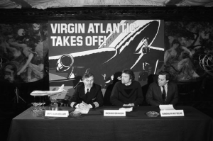 Virgin Atlantic launch press conference