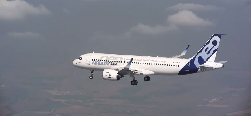 A320neo Flight