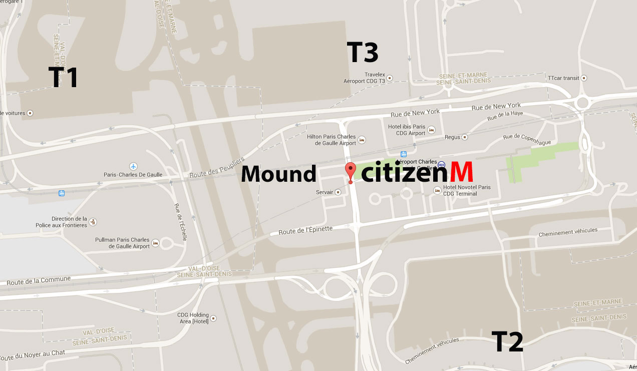 citizenM Paris location