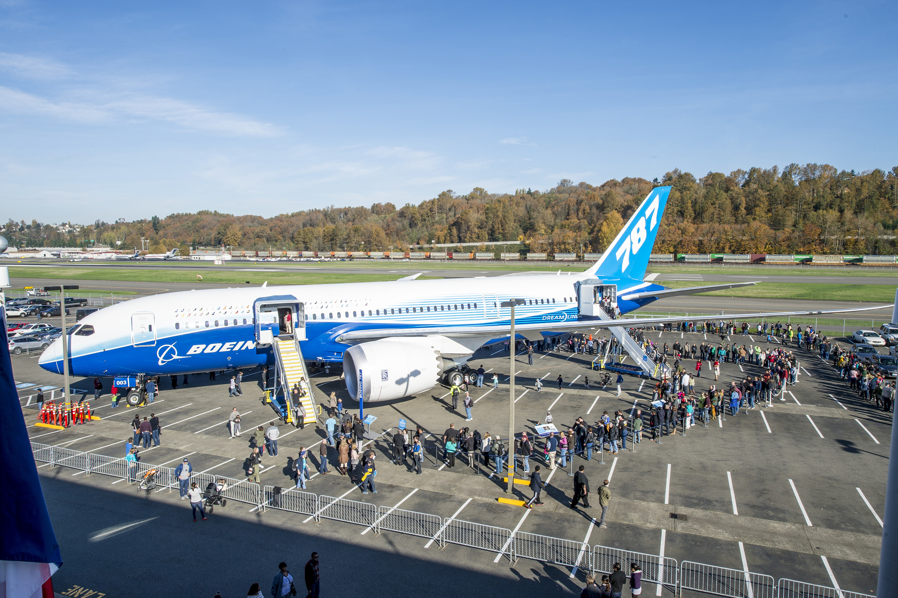 Boeing 787 prototype to Seattle museum - Airport Spotting Blog