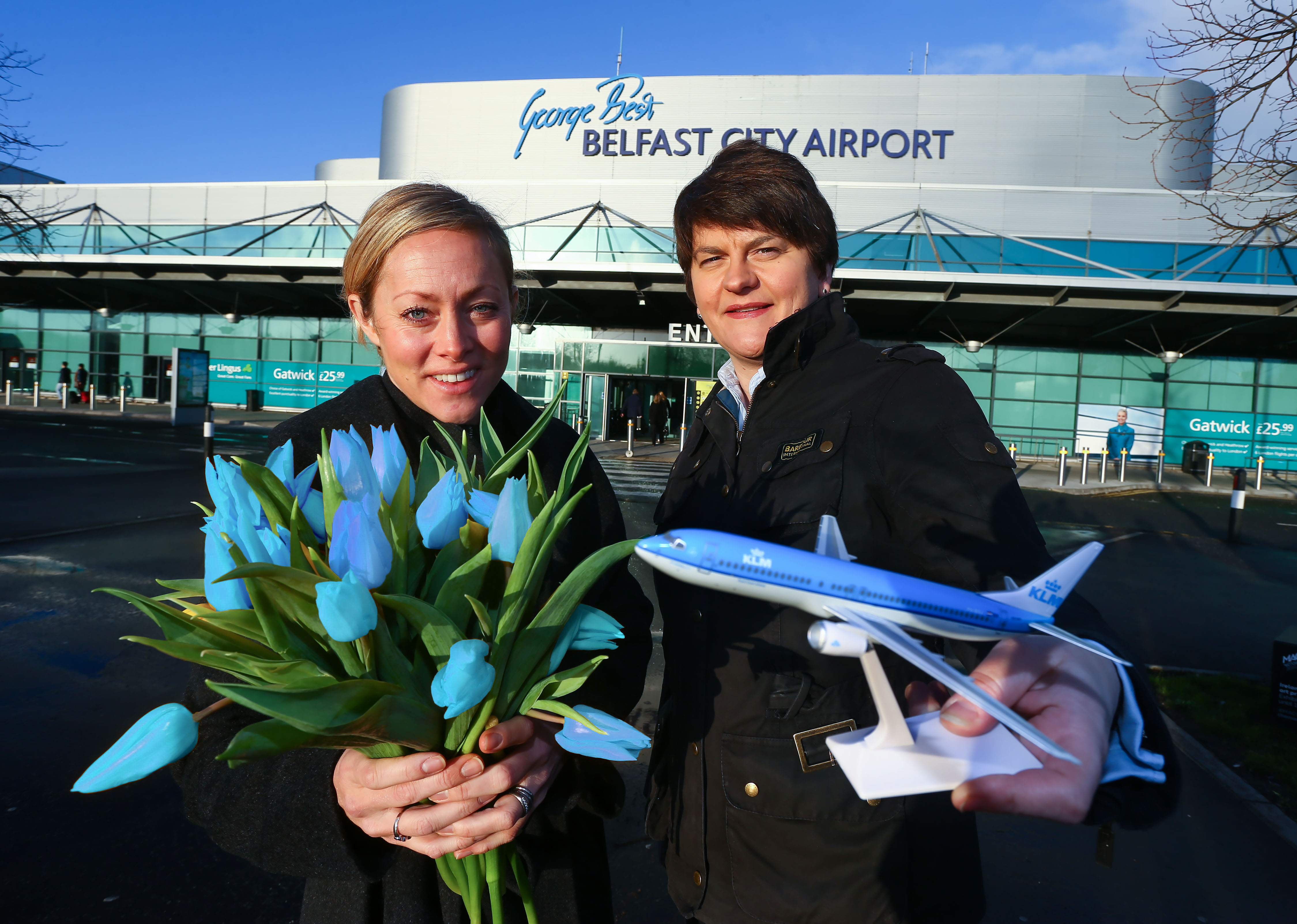 KLM ANNOUNCES ARRIVAL TO NORTHERN IRELAND