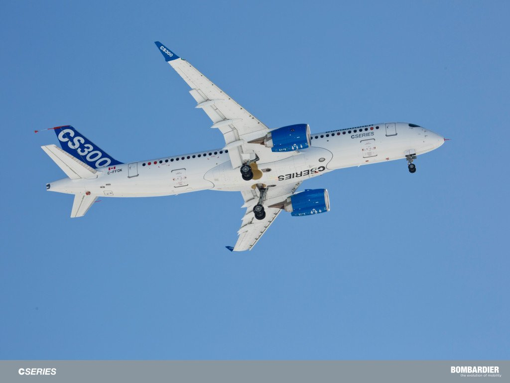 CS300 first flight