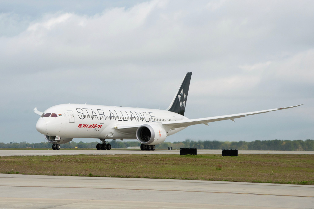 Air India 787-8 Star Alliance