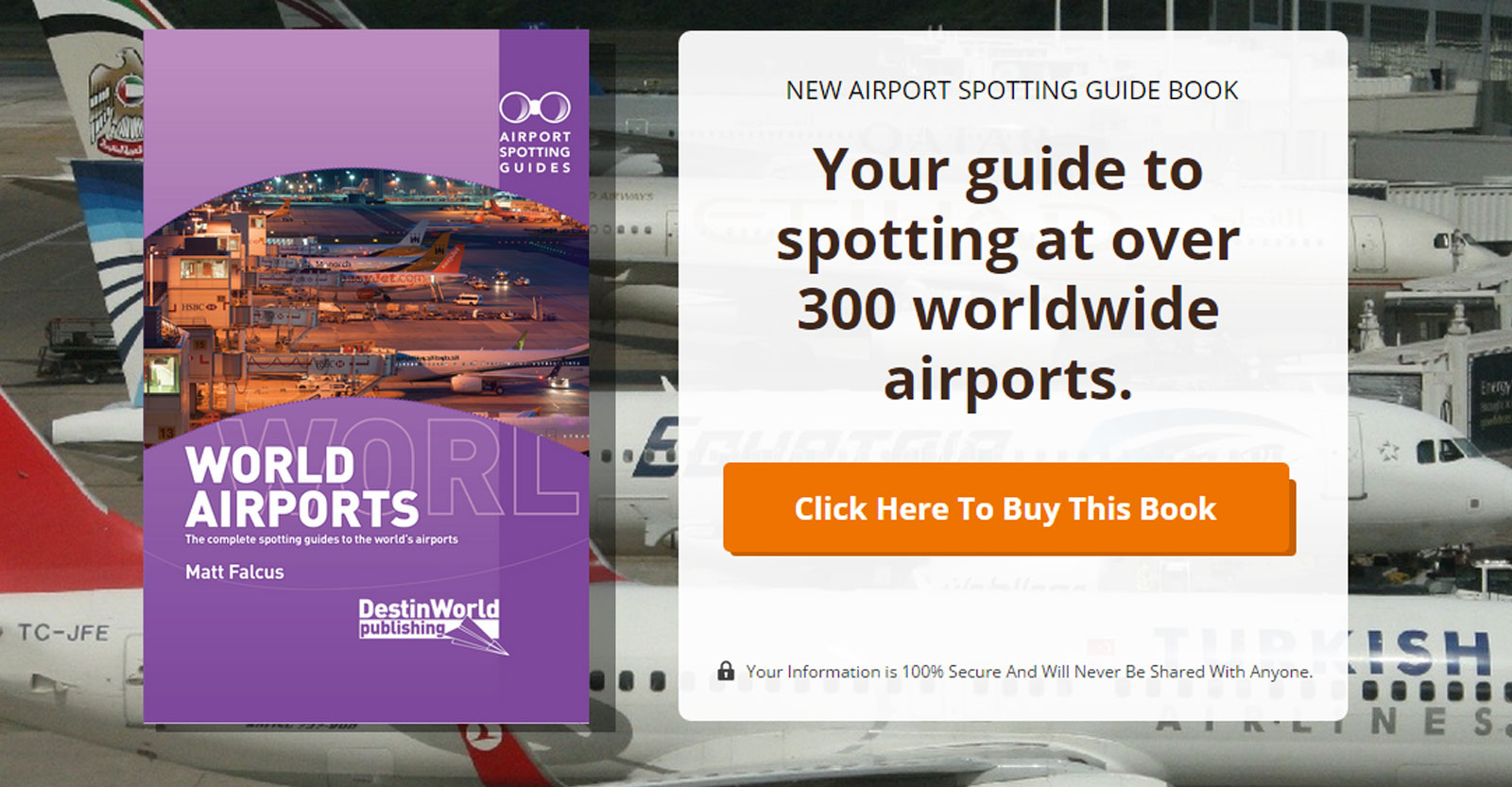 World Airports Spotting Guide Book
