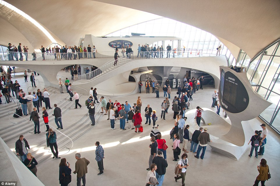 Jfk twa terminal to become a hotel for Jfk airport hotel inside terminal