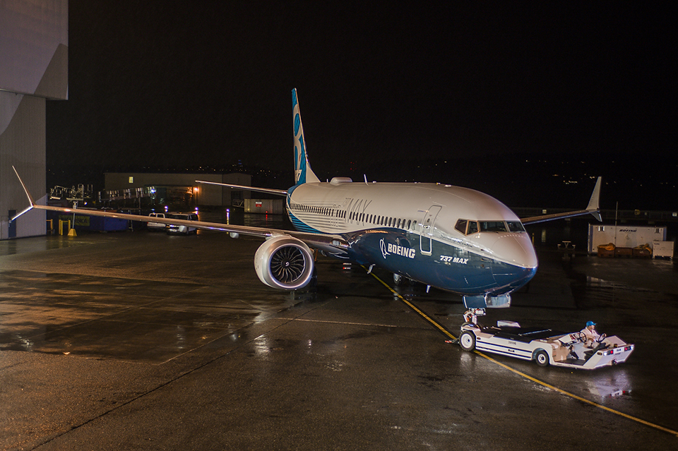 Boeing 737 800 Max: First Boeing 737 MAX Unveiled