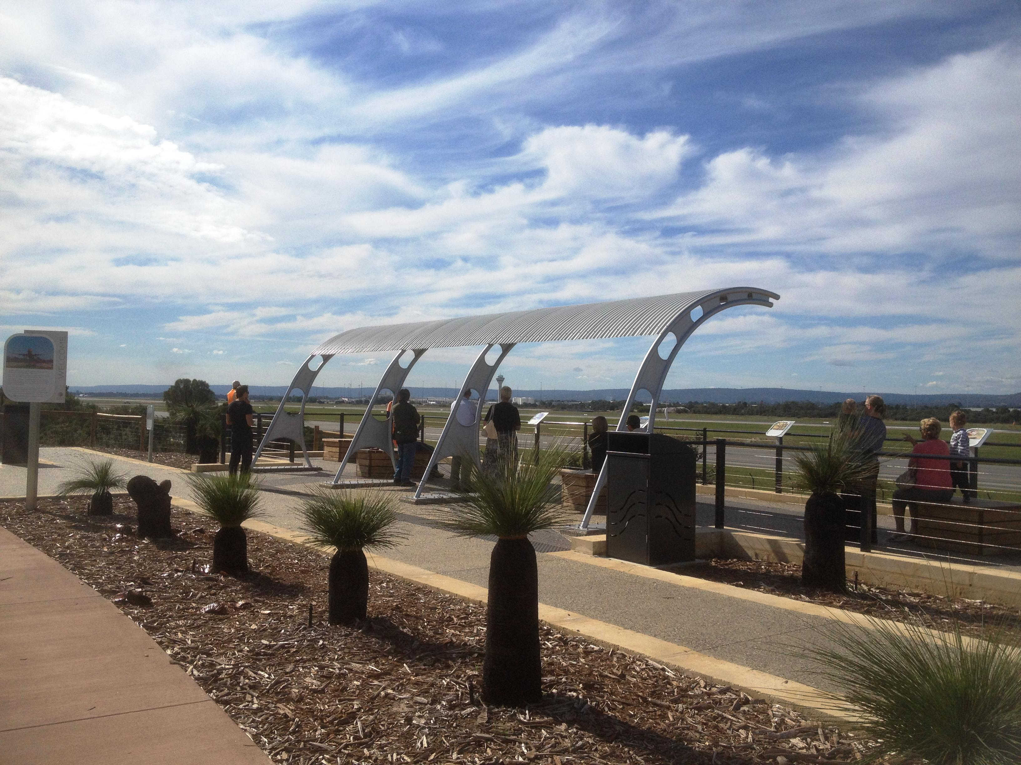 Perth Airport viewing platform