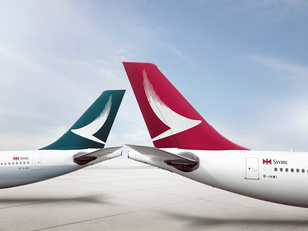 Cathay Dragon Tails