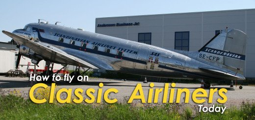 How to Fly on Classic Airliners