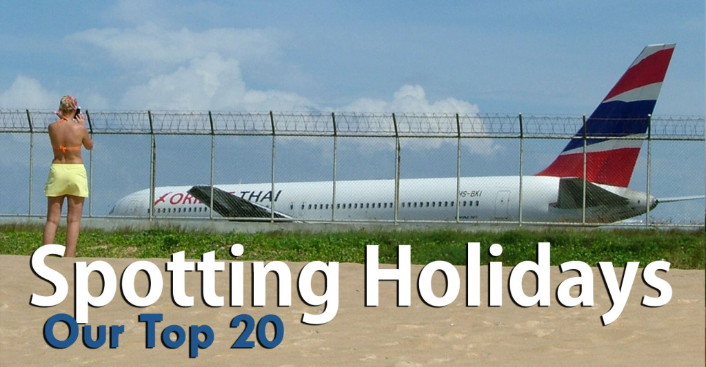Top 20 Spotting Holidays