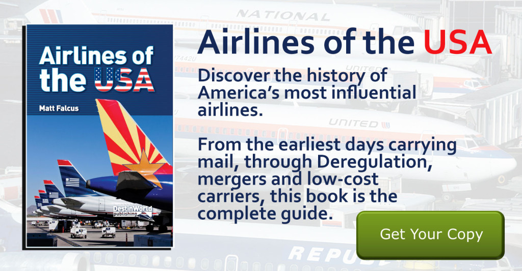 Airlines of the USA Book