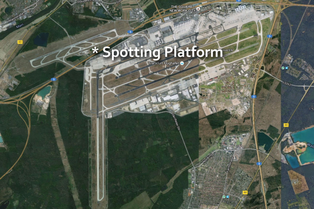 frankfurt airport spotting area