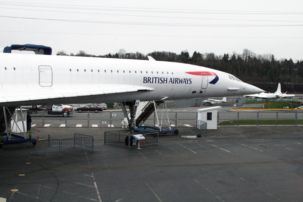 G-BOAG Concorde Seattle