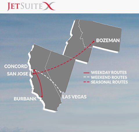 JetSuiteX-Route-Map