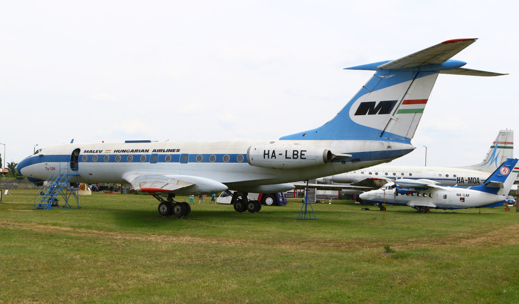 Aircraft at the Budapest Aircraft Museum