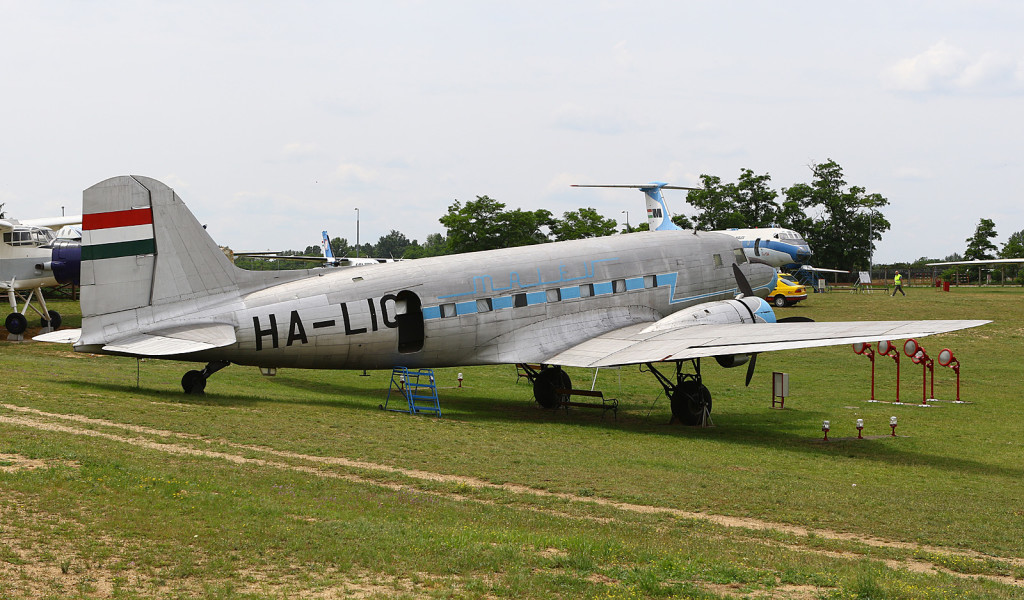 Lisunov Li-2 HA-LIQ at the Budapest Aircraft Museum
