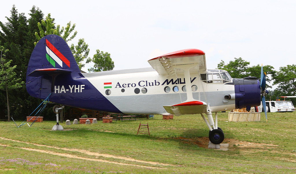 Malev Aero Club Antonov An-2 HA-YHF at the Budapest Aircraft Museum