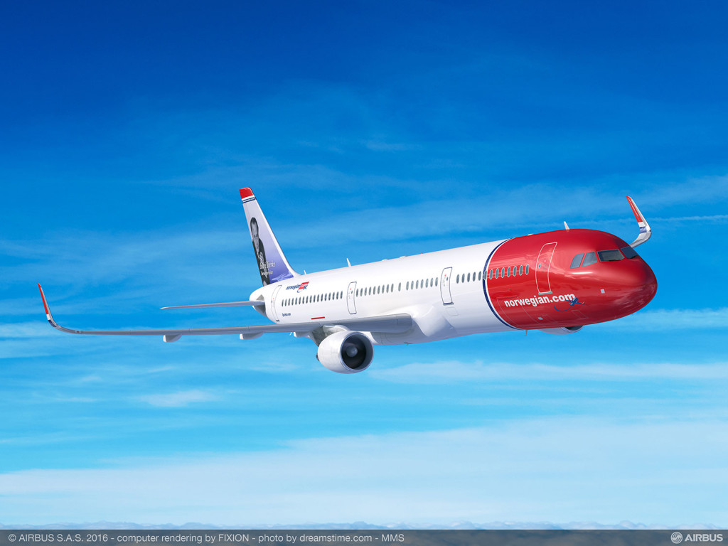 Norwegian A321LR