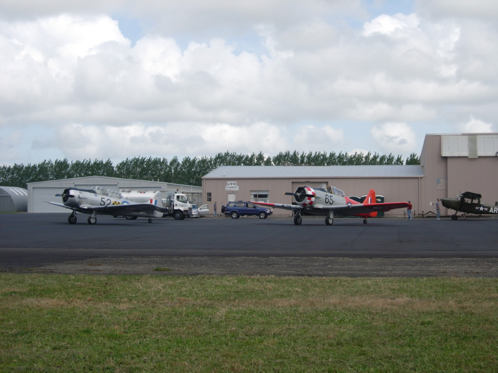 Warbirds at Ardmore Airport